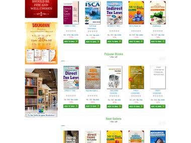 Book Mandir e-commerce website