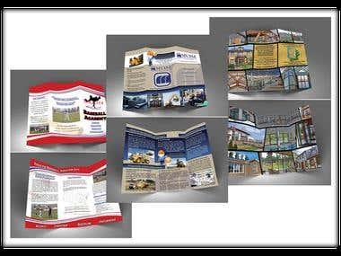 Tri-Fold Brochures (x3) -