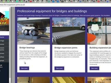 Expansion Joints UK website