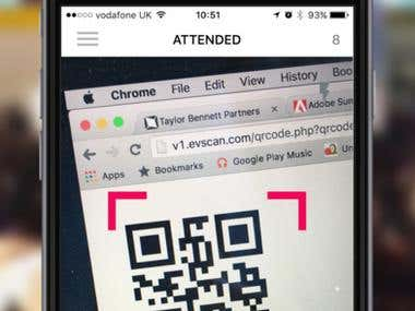 evScan (Iphone/Ipad Application)