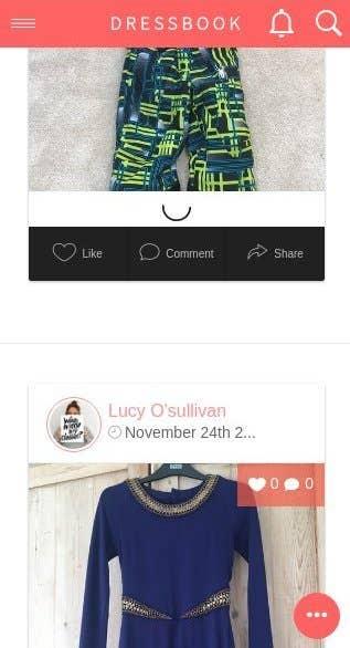 Dressbook - e-commerce site and cross platforms mobile app
