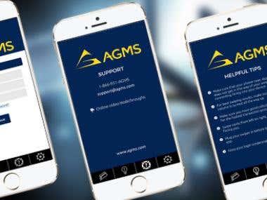 AGMS Swipe reader app