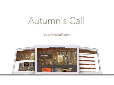 Autumn's Call Website