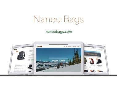 Naneu Bags Website