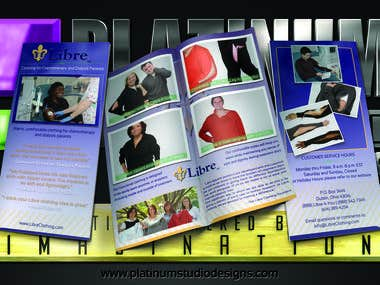 Libre Clothing Custom Brochure