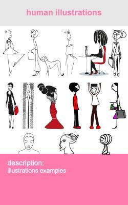 human illustrations