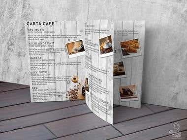 Menu Card - Stationary - Branding - Graphic Design