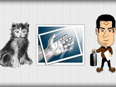 Diseños a mano alzada