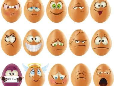 smilies eggs