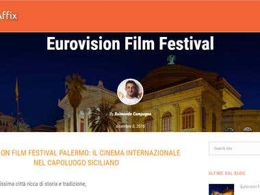 Eurovision Film Festival Article