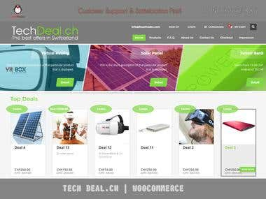 techdeal.ch website