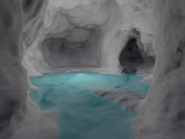 A water cave