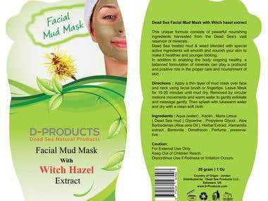 Product Label Design
