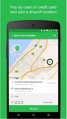 Careem Taxi App (Clone)
