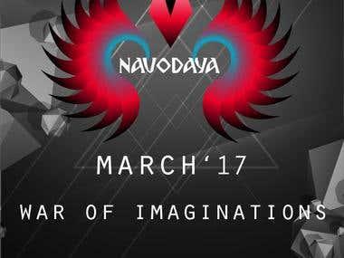 Navodaya 2017 cultural fest Brochur Design