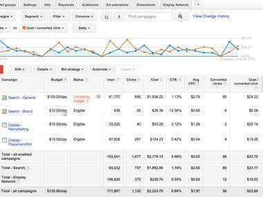Google Ads Analytics