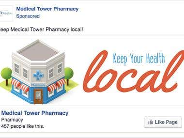 Facebook Ad for Increasing Page Likes