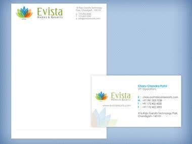 Evista Homes and Resorts Logo