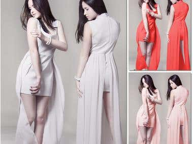 Change dress color