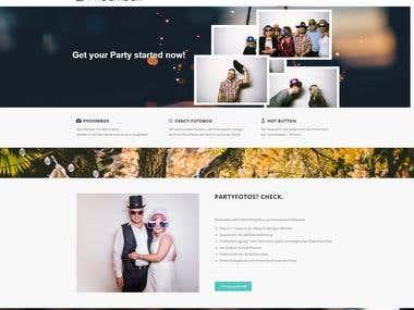 Webseite für phoombox