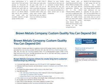 Brownmetals