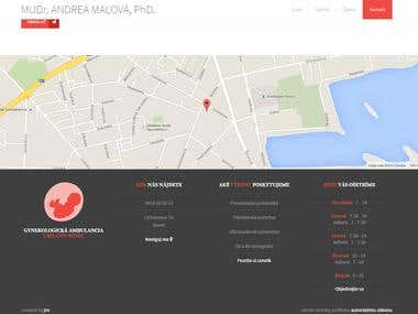 Gynecologist ambulance web