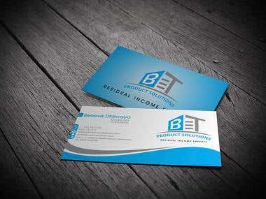 BT Business Card