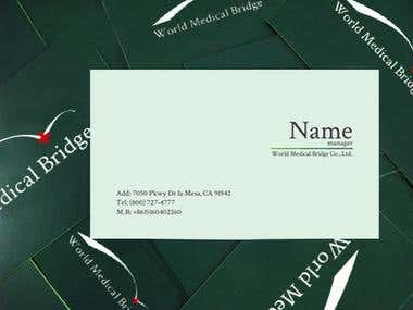 WMB logo&business card