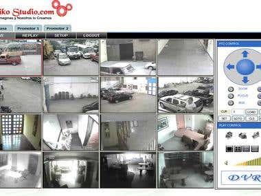 Plataforma para la Visualizacion  de  Camaras de Seguridad