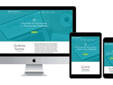Diseño de Sitio Web | Innovanet Corporativo