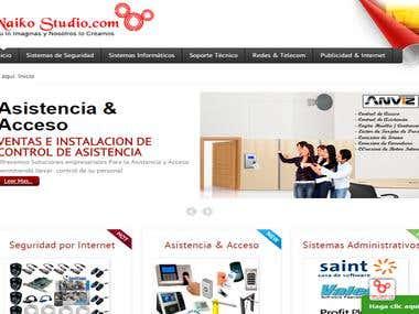 Sitio Web Dinámico e Interactivo Informativo. Cliente - Serv