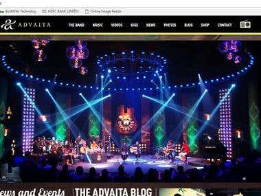 Advaita [Band] - Online showcase