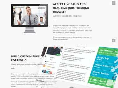 Freelancing Portal