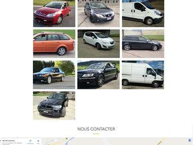 Rent a Car Website