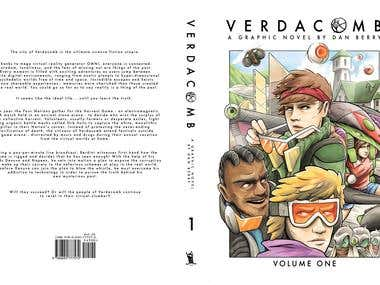 VERDACOMB Volume One Cover Art