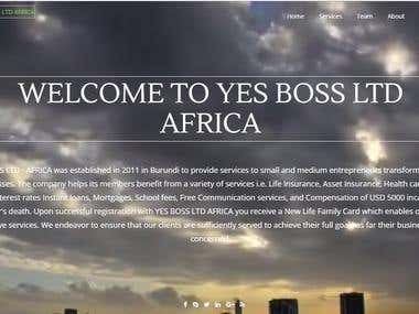 YES BOSS LTD AFRICA