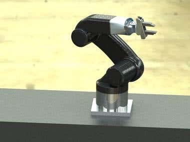 Manipulator Robot Design-Gripper Design