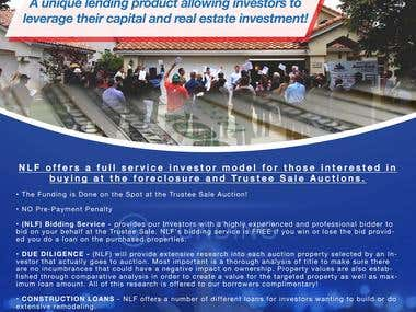 Flyers for New Light Financial