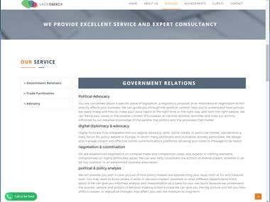VAOB Energy Website