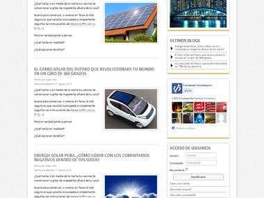 Drupal Blog Template
