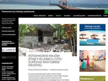 Mój blog o podróżowaniu