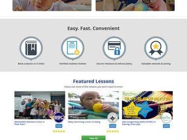 E -Learning portal