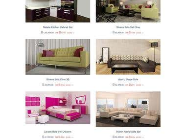 Nopcommerce store for Home Furnishings