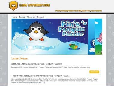 Lion Interactive - My small iOS game studio