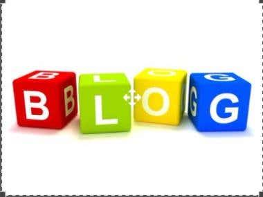 Blogs, Article & Web Contents