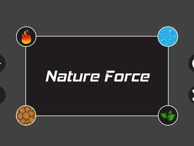 Nature Force - 2D Game