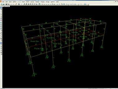2 Storey building analysis
