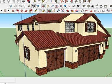 House Design - Google Sketchup