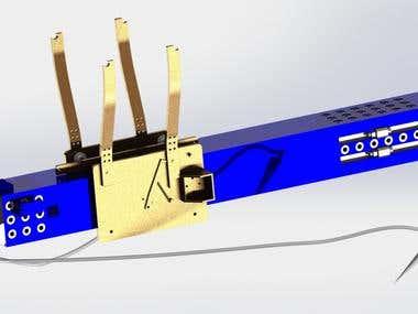 Pneumatic UAV launcher