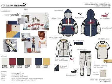 Puma - SS17 Kidswear - Project